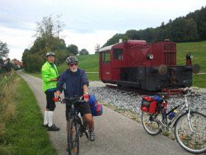 Radeln für Frühaufsteher:  Kaufbeuren - Lechbruck - Füssen @ S-Bahnhof Puchheim, Mittelbahnsteig