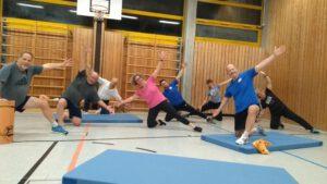 Wirbelsäulengymnastik @ Grundschule Süd | Puchheim | Bayern | Deutschland